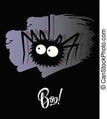 'boo!', dia das bruxas, lettering, feriado, inscrição