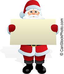 boodschap, kerstman