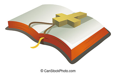 book and crucifx