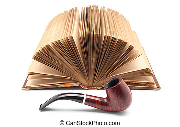 book and pipe