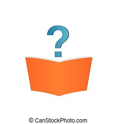 Book and Question - Image of a book and question mark ...
