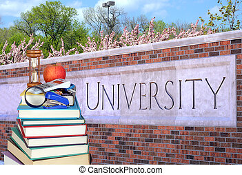 book and university