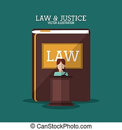 Book and witness of law and justice design - Book and...