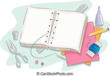 book making vector clipart eps images 1 074 book making clip art