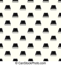 Book closed pattern seamless vector