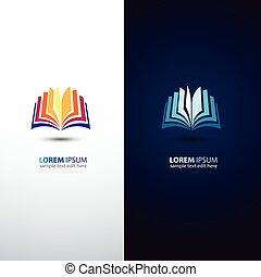 colorful book icon