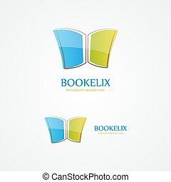 Book design  logo