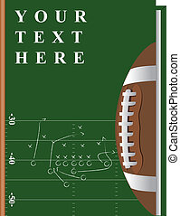 Book football - Vector cover of the book on the topic of...