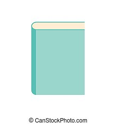 Book icon. Flat design style modern vector illustration.