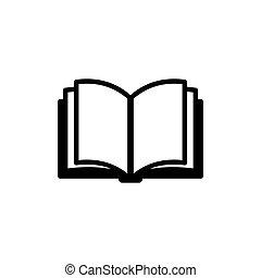 Book Icon. Vector Logo
