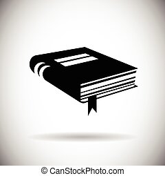 Book Icon Web Application Button