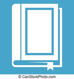 Book icon white