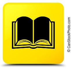 Book icon yellow square button