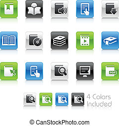Book Icons // Clean Series