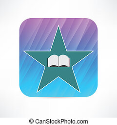 book in the star icon