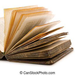 Book isolated on the white background