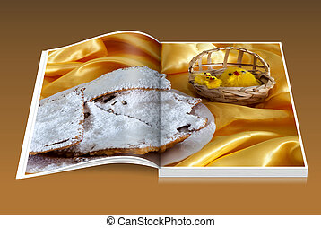 book of Carnival and Easter sweets