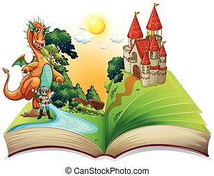 Book of dragon and knight