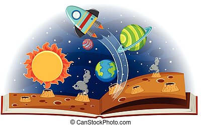 Book of planets in solar system