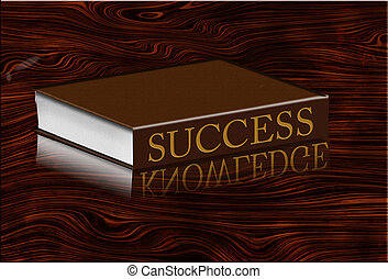 Book of Success Reflects Knowledge on Desktop