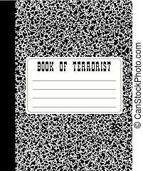 Book of terrorist - A book of standard sizes for fixing...