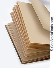 Book, old paper book