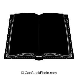 book old retro vintage icon stock vector illustration