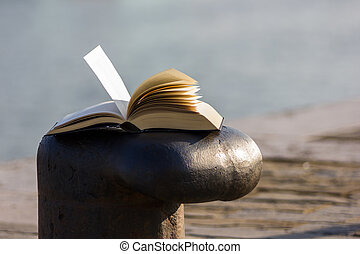 Book on the dock