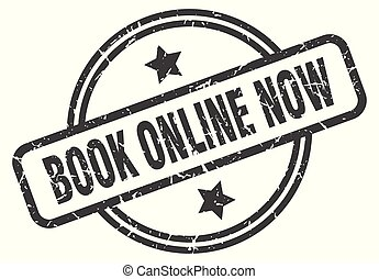 book online now stamp