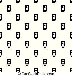 Book pattern seamless vector