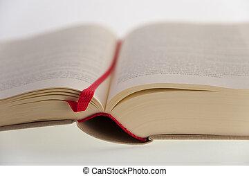 book - close up of a book