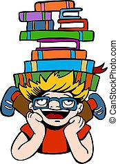 Book Reader Kid