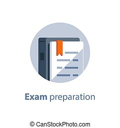 Book reading, exam preparation, subject learning course,...