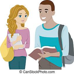 Book Sharing Teens