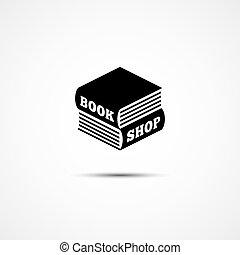 Book shop logo