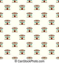 Book shop pattern seamless vector