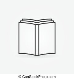 Book simple icon