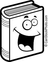Happy book. Cartoon dictionary education encyclopedia