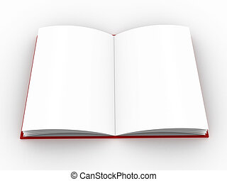 book - High-res blank book. fill in your own graphic or text...