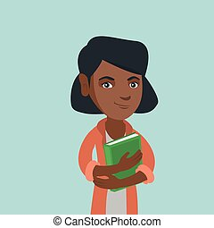 book., student, ung, krama, african-american