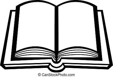 Book vector icon