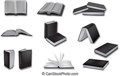 book vector illustrations