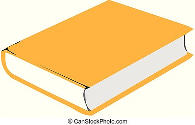 book vector on white background