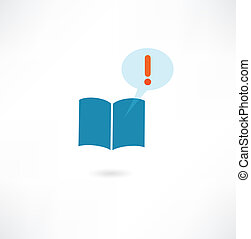 book with a message icon