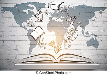 Education and graduation concept