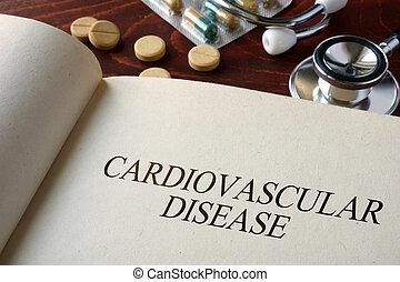 cardiovascular disease - Book with diagnosis cardiovascular ...