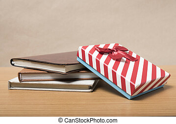 book with gift box