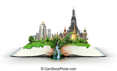 book with thailand