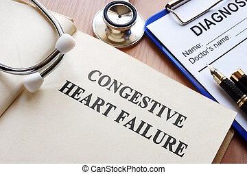 Book with title congestive heart failure.