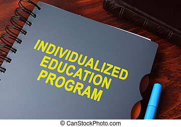 individualized education program (IEP) - Book with title...